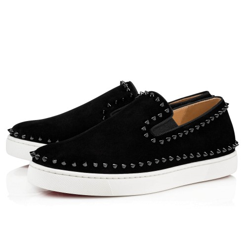 Men Shoes - Pik Boat Flat - Christian Louboutin