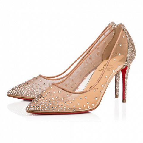 鞋履 - Follies Strass 085 Glitter - Christian Louboutin