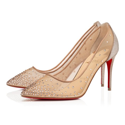 鞋履 - Follies Strass Glitter - Christian Louboutin