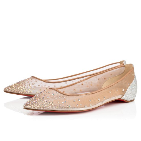 Women Shoes - Follies Strass 000 Strass - Christian Louboutin