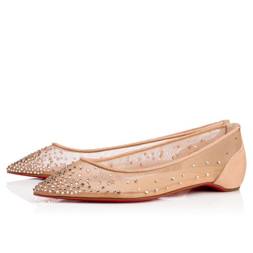 鞋履 - Follies Strass Flat - Christian Louboutin