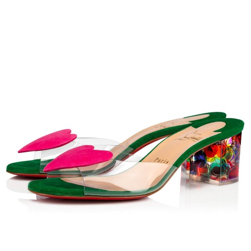 Women Shoes - Hallu Corazon - Christian Louboutin