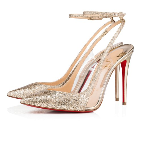 Women Shoes - Optichoc Glitter - Christian Louboutin