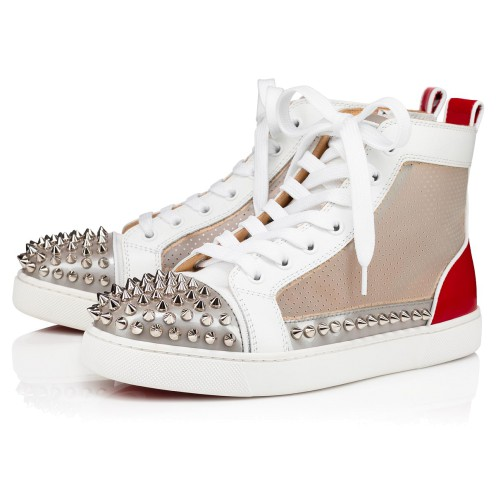 鞋履 - Sosoxy Spikes D Creative Fabric - Christian Louboutin