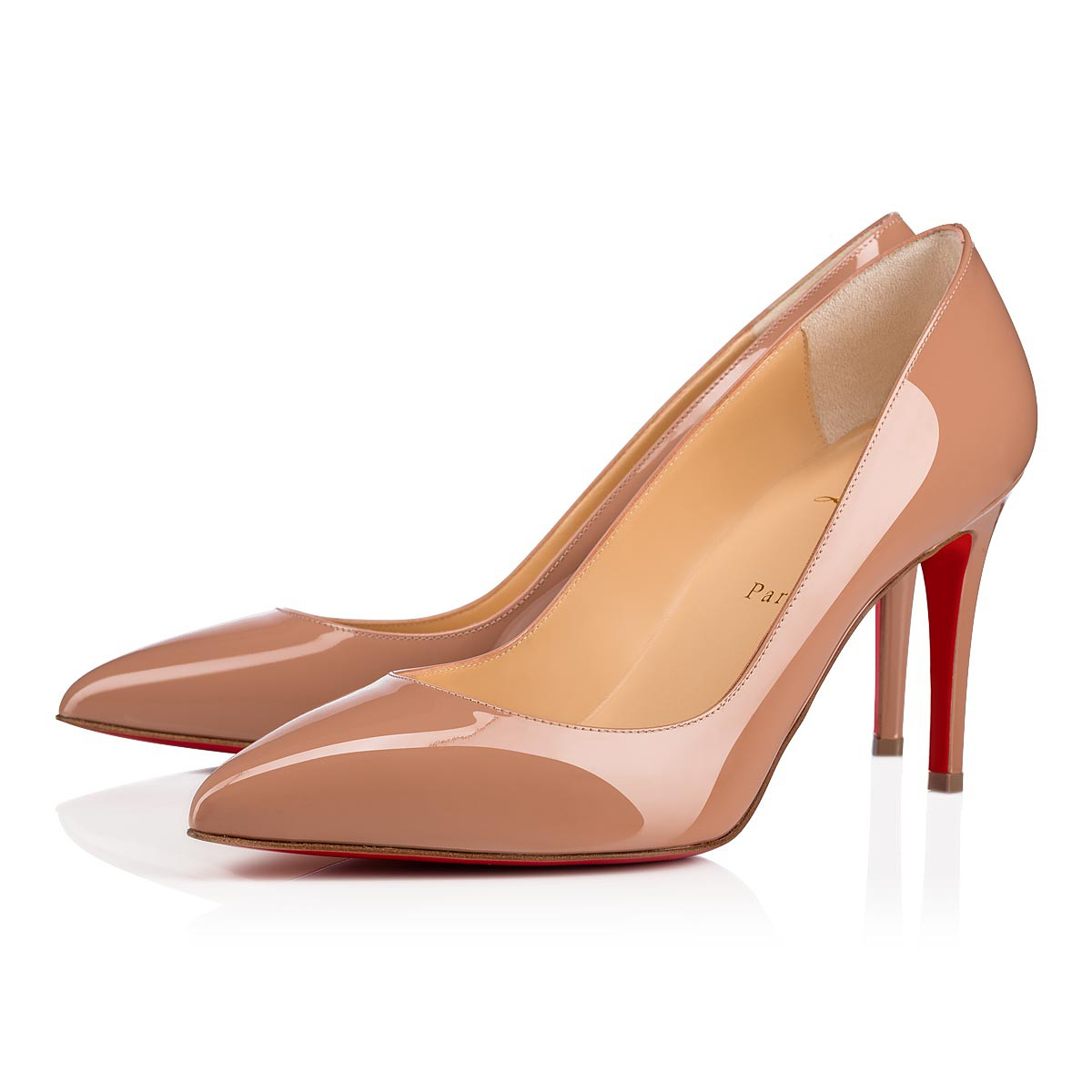the best attitude c9361 189ca PIGALLE 85 Nude 6248 Patent - Women Shoes - Christian Louboutin