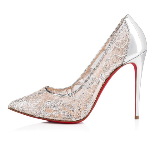Women Shoes - Follies Lace 100 Dentelle - Christian Louboutin_2