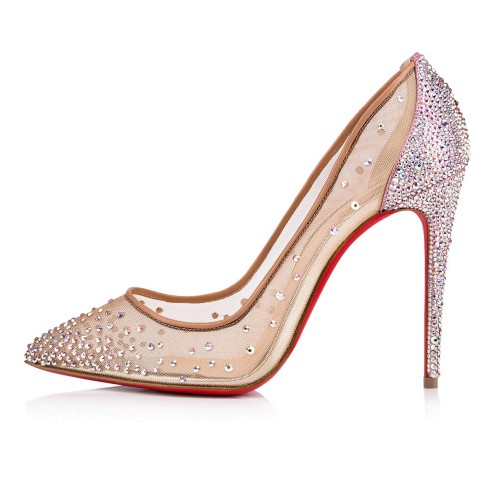 鞋履 - Follies Strassi 100 Strass - Christian Louboutin_2