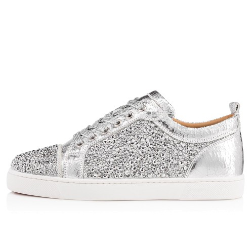 鞋履 - Louis Junior Strass Woman Flat - Christian Louboutin_2