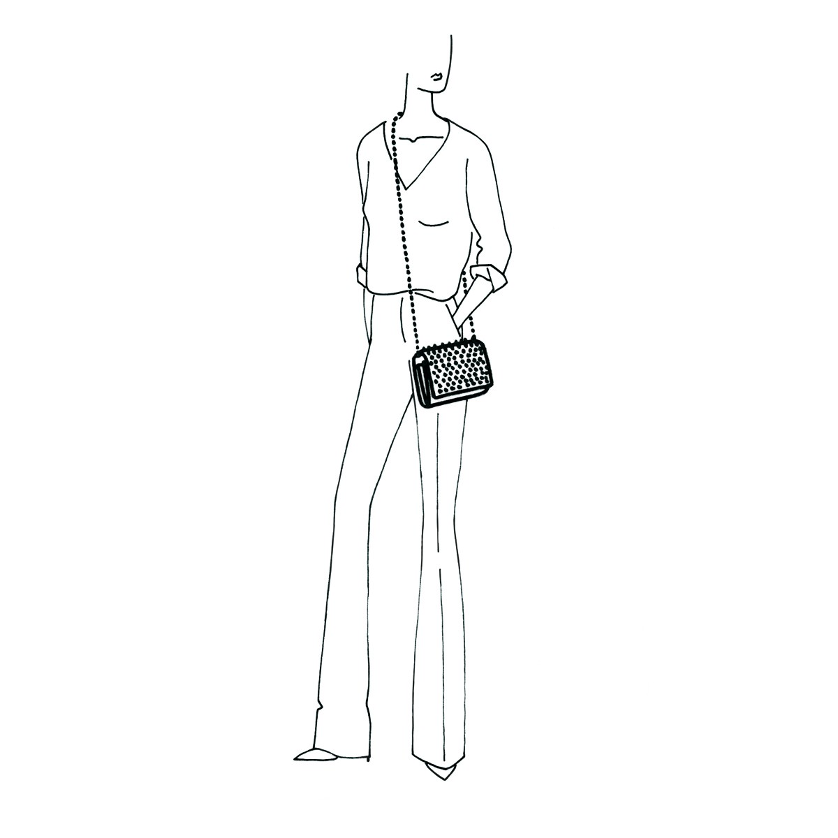 Women Bags - Paloma Clutch - Christian Louboutin