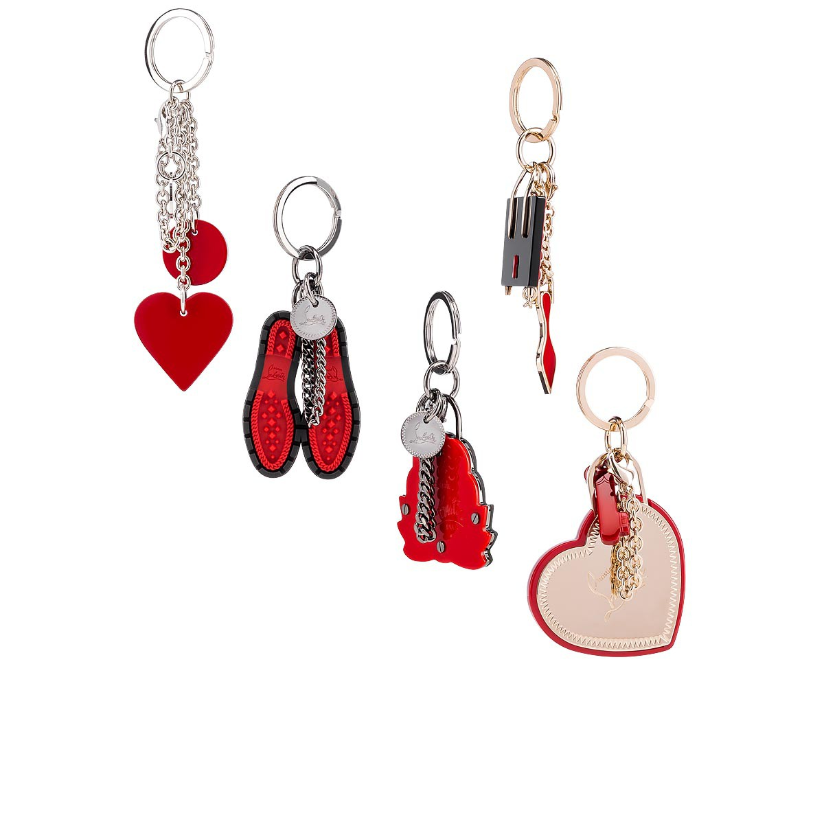 Accessories - M Lug Sole Keyring - Christian Louboutin