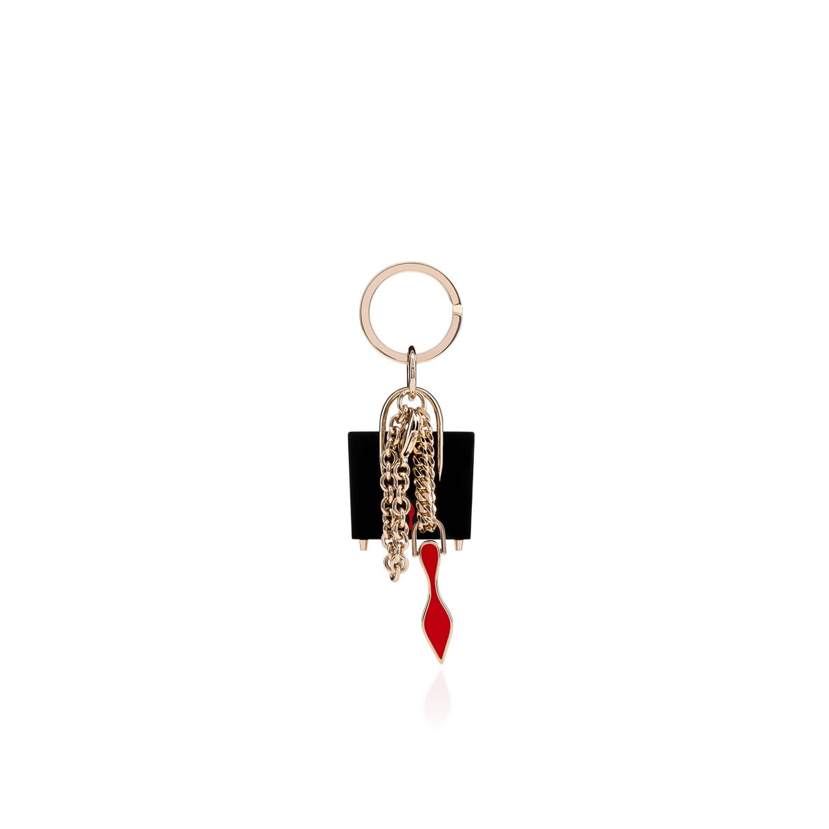 Accessories - W Paloma Keyring - Christian Louboutin