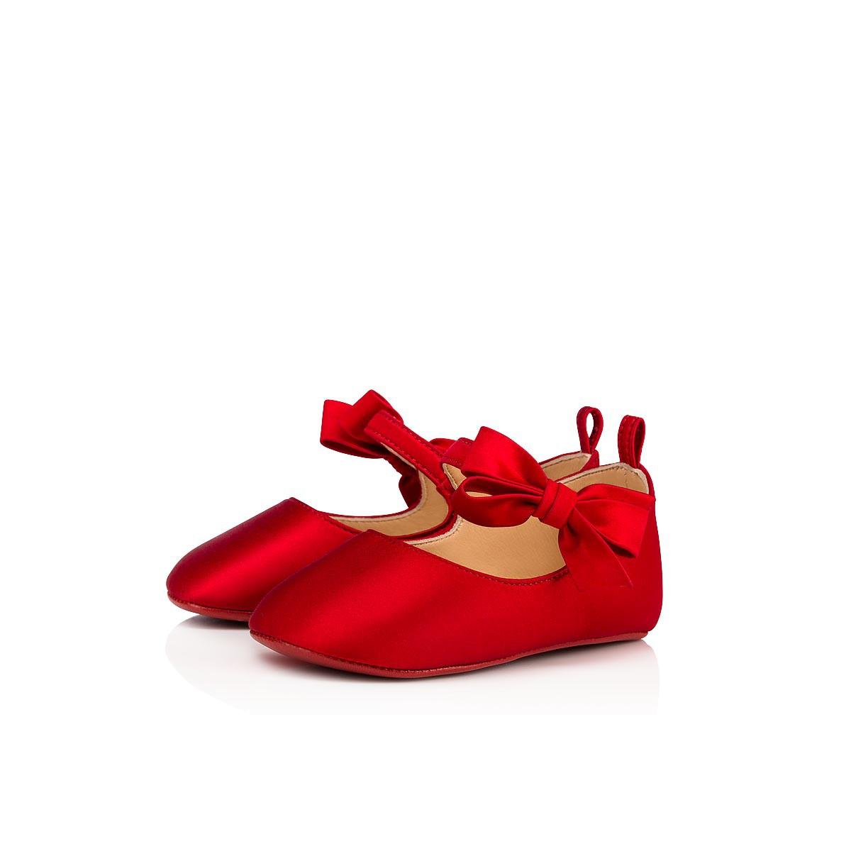 6e2e317c19b5 Women Kid Shoes - Loubi Red Baby Shoes - Christian Louboutin ...