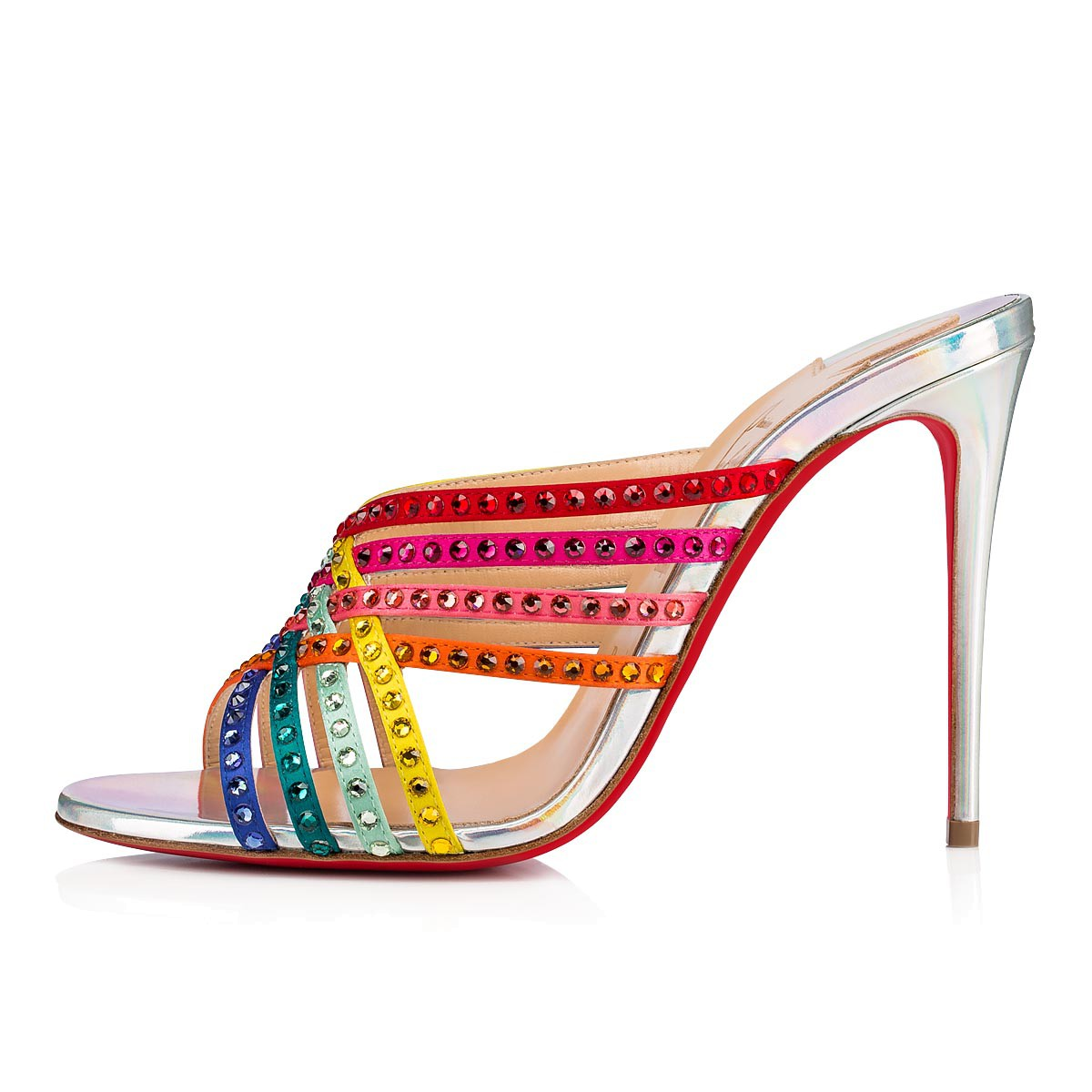 鞋履 - Marthastrass 100 Strass - Christian Louboutin
