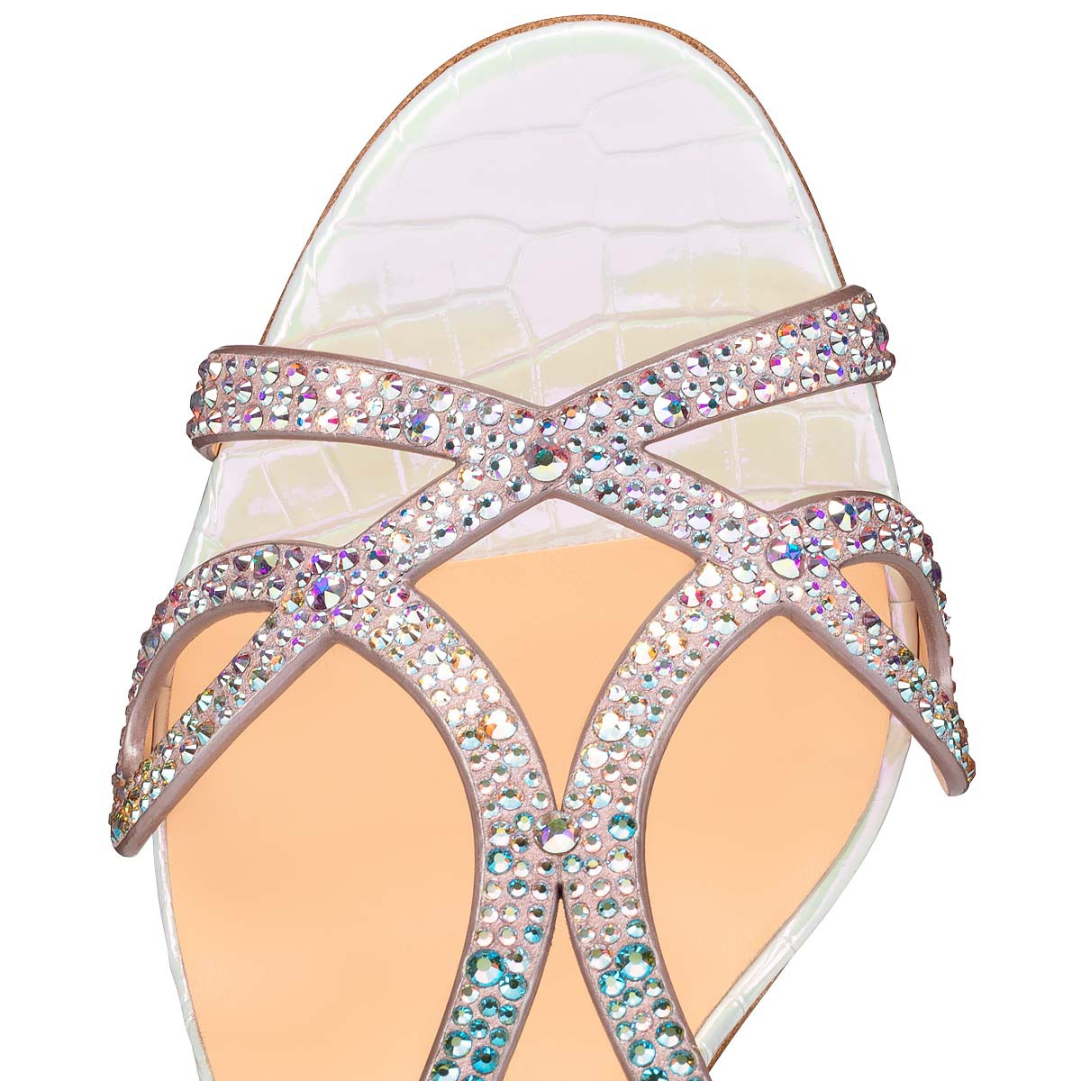 Shoes - Double L Sandal Strass - Christian Louboutin