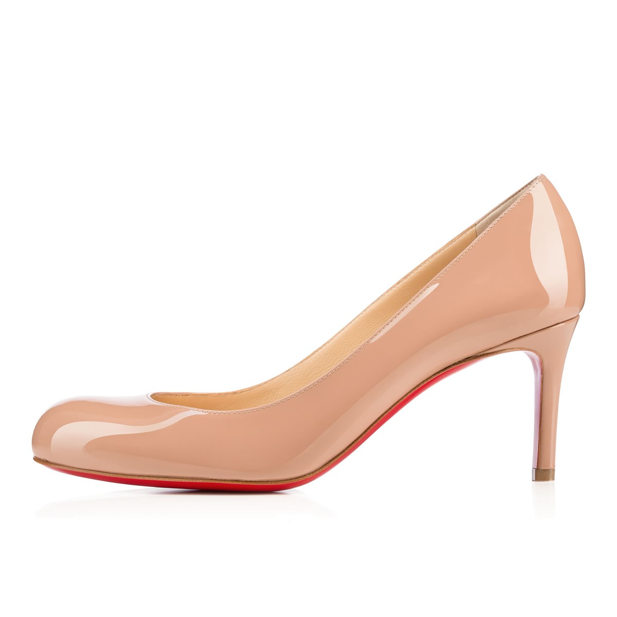 SIMPLE PUMP 70 NUDE Patent Leather - Women Shoes - Christian Louboutin 1f0cbd42ee