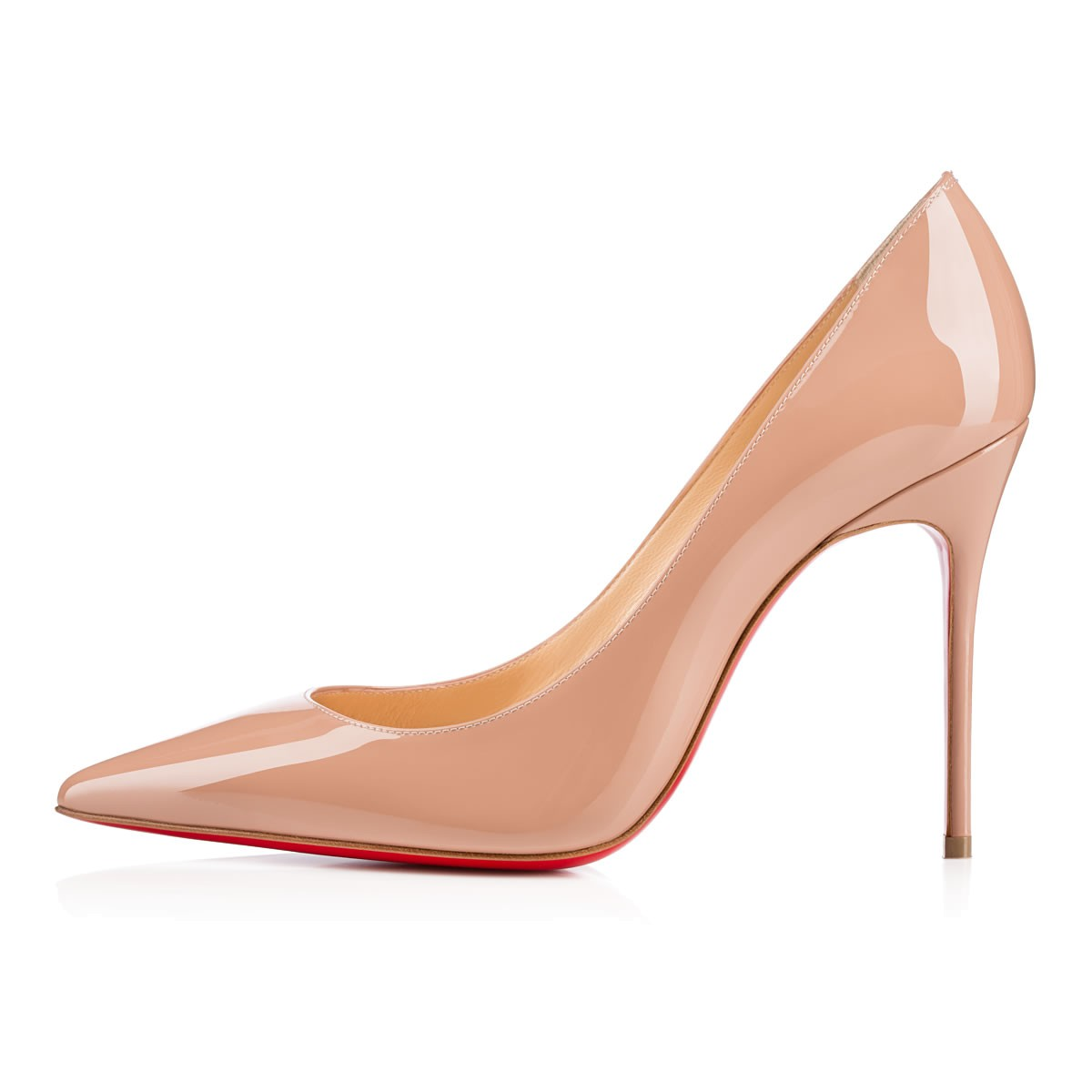 21fb56dee87 Kate 100 Nude 6248 Patent - Women Shoes - Christian Louboutin