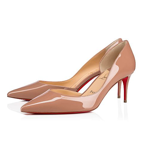 3057bbca1 IRIZA 70 NUDE Patent - Women Shoes - Christian Louboutin