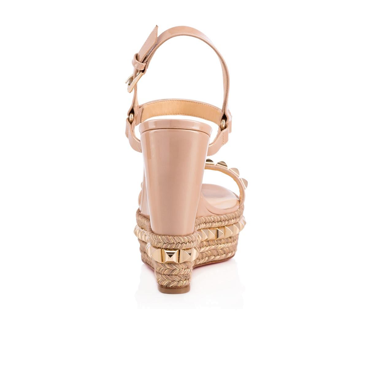 promo code 35b9e 66e13 CATACLOU 120 NUDE/LIGHT GOLD Patent - Women Shoes - Christian Louboutin