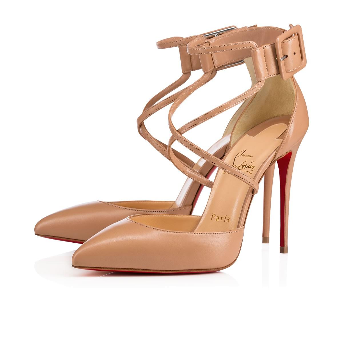 the best attitude 2f9a3 cf4eb Suzanna 100 NUDE Nappa - Women Shoes - Christian Louboutin