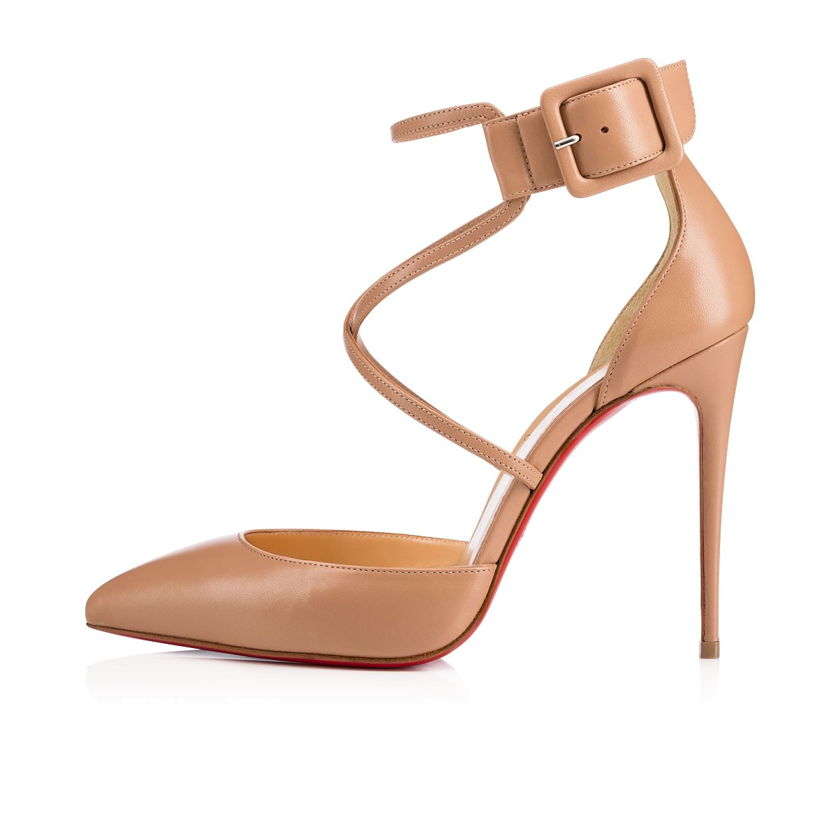 the best attitude b0abf 038d6 Suzanna 100 NUDE Nappa - Women Shoes - Christian Louboutin