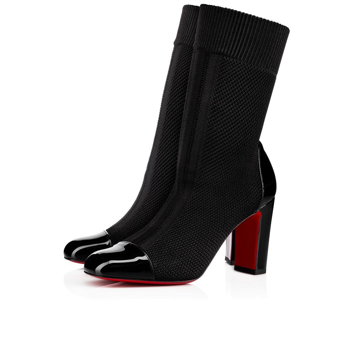 鞋履 - Taco Sock 85 Pat/maille Tricot Fabric - Christian Louboutin