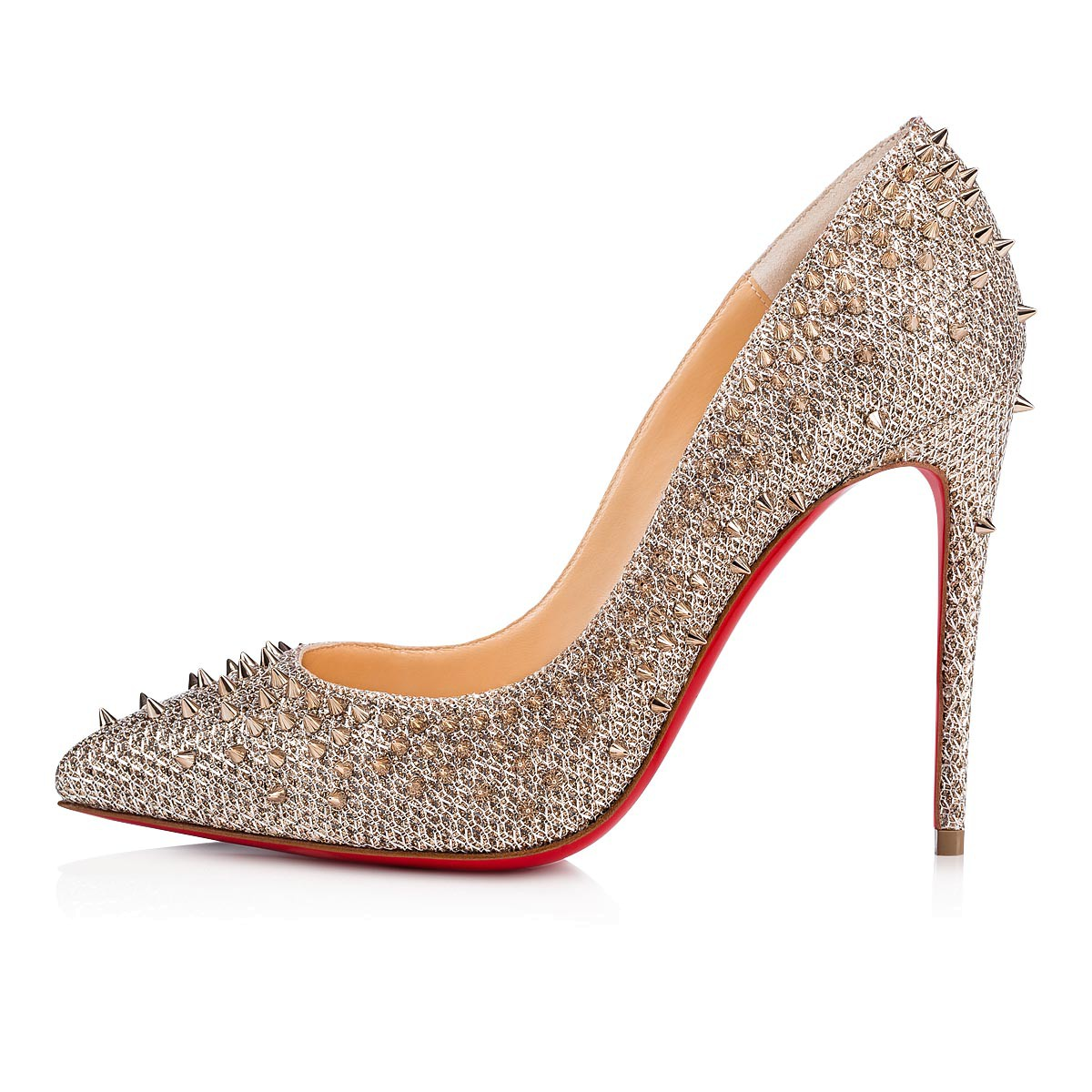 Women Shoes - Escarpic Glitter - Christian Louboutin