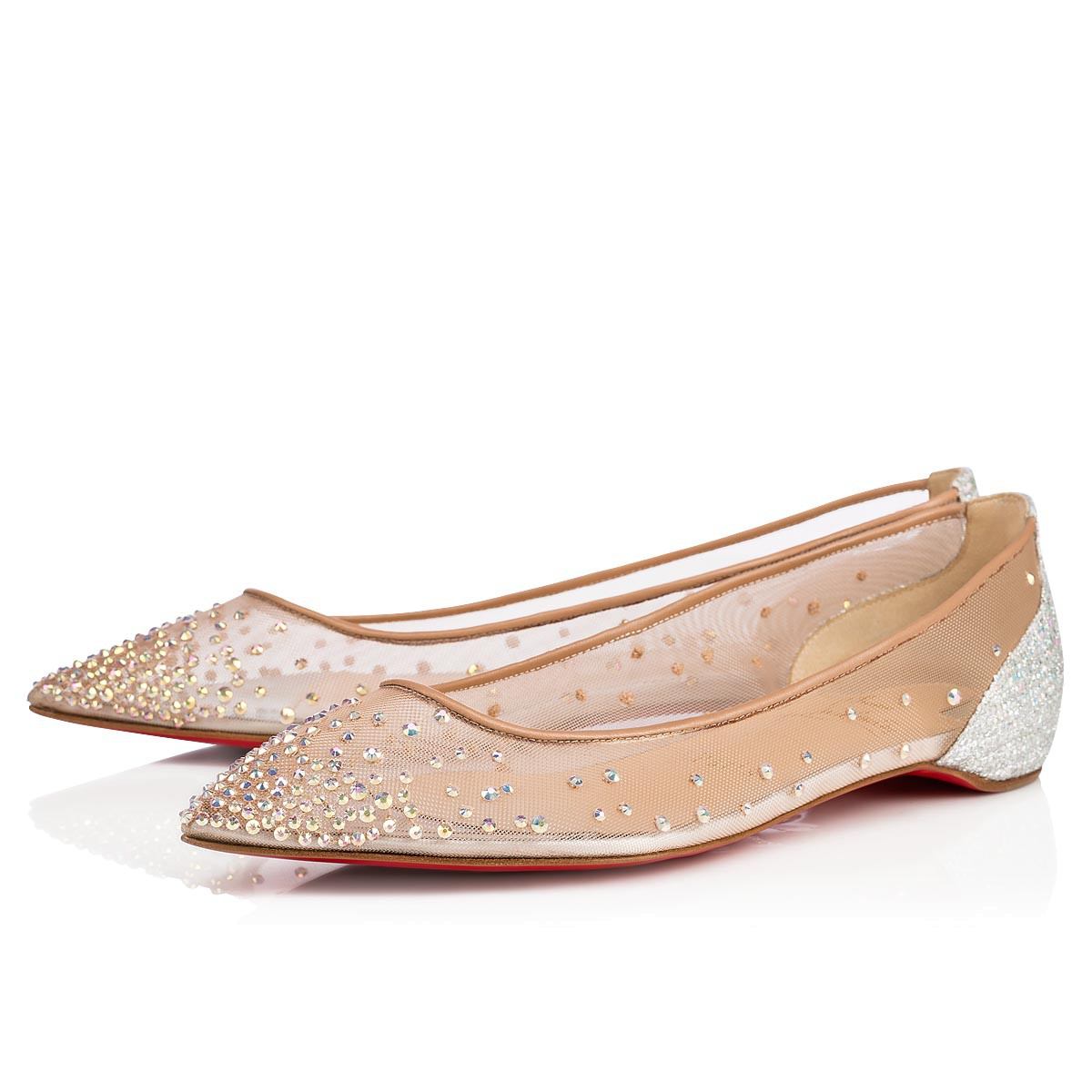 low priced 72da0 aaabb Follies Strass VERSION CRYSTAL Strass - Women Shoes - Christian Louboutin