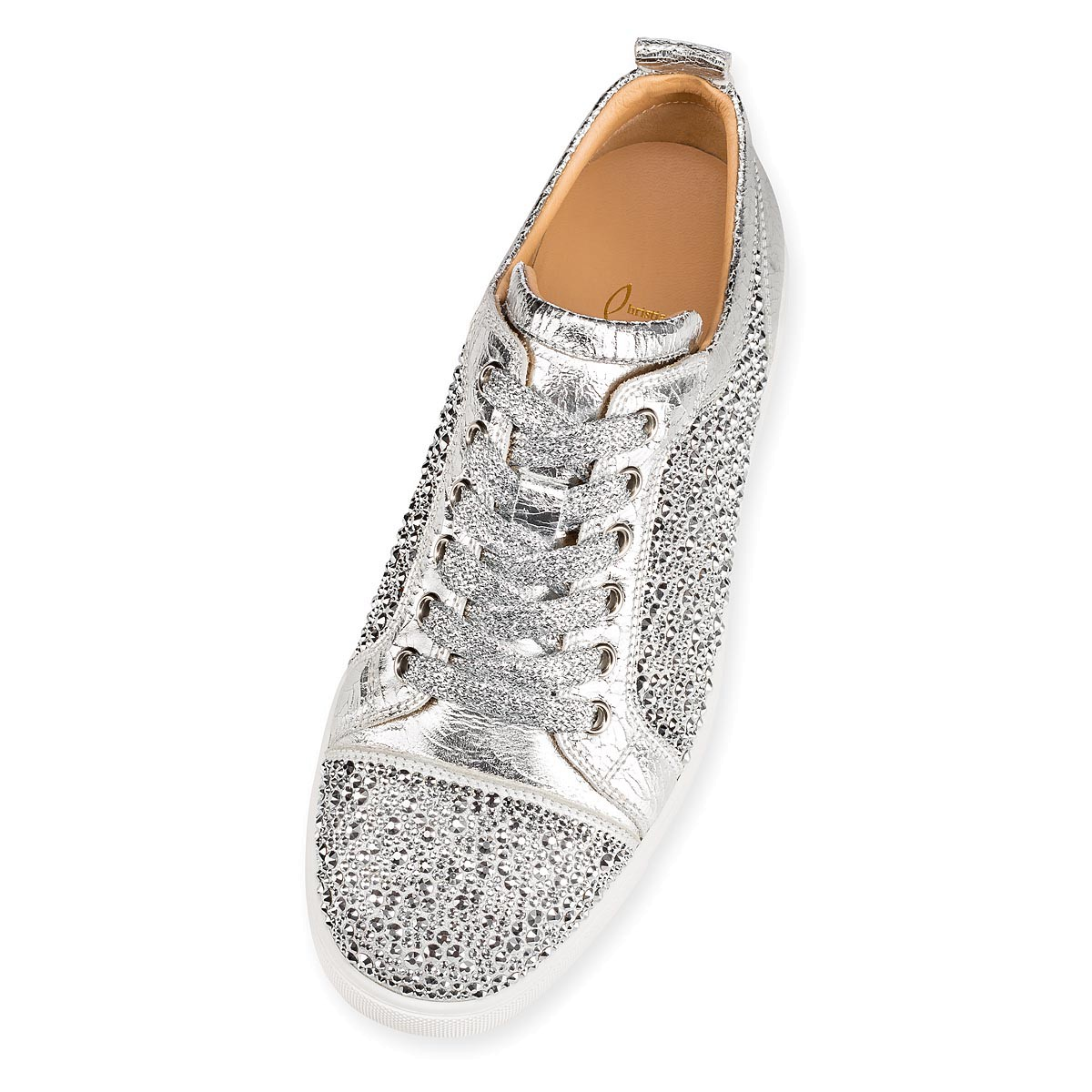 鞋履 - Louis Junior Strass Woman Flat - Christian Louboutin