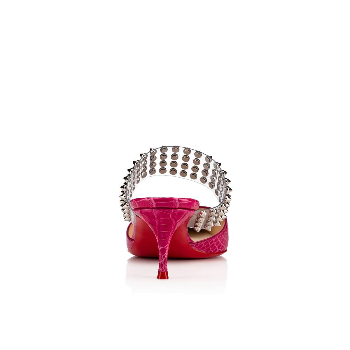 鞋履 - Levita Mule 055 Croco - Christian Louboutin