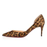 鞋履 - Iriza 070 Crepe Satin/satin/lurex - Christian Louboutin