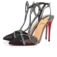 鞋履 - Double L Pump Strass - Christian Louboutin